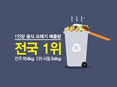 음식물쓰레기 줄이기 캠페인
